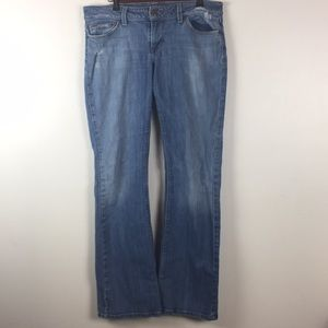 Joes Jeans Straight Wide Leg Size 31 Womens Faded